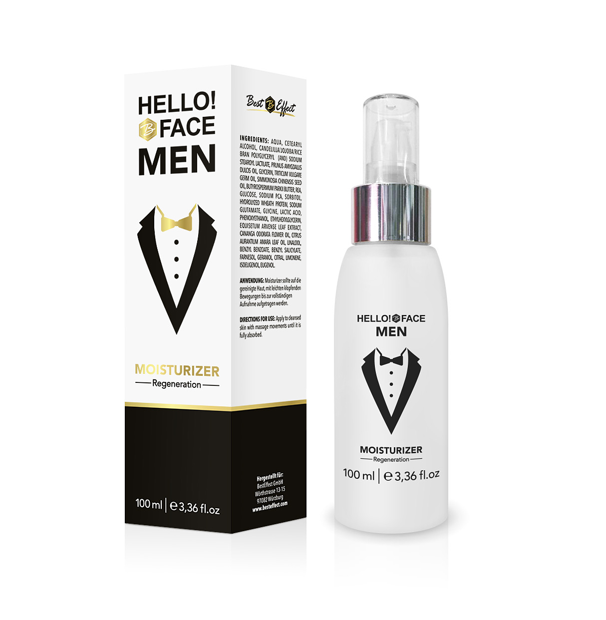 Hello!Face MEN Moisturizer